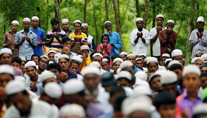 Rohingya refugees in Bangladesh mark Eid-ul-Adha after fleeing violence
