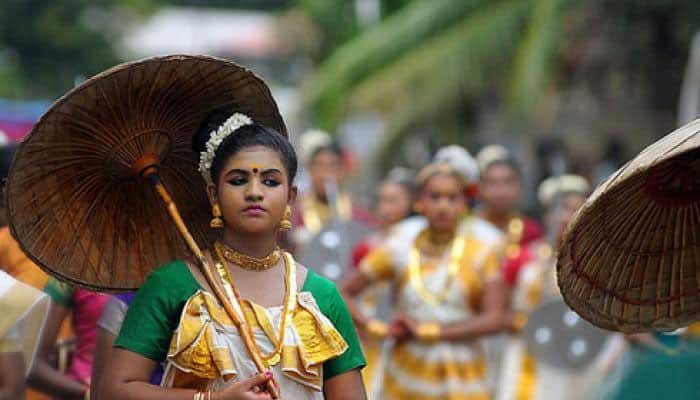Onam festival was celebrated with traditional gaiety, religious fervour