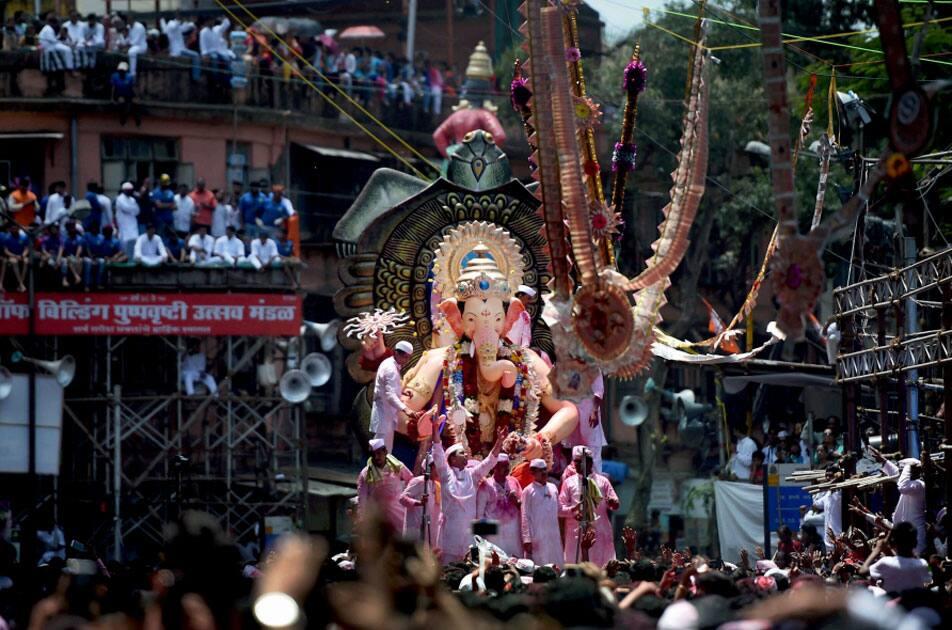 Ganesh idol of Lalbaugcha Raja