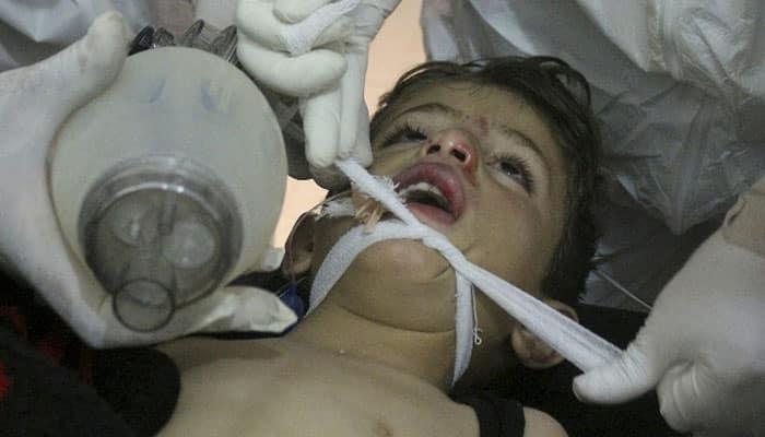 Syria government behind sarin gas attack in April: UN probe
