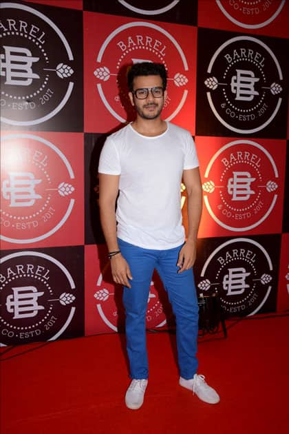 Actor Jay Soni during the launch Party of