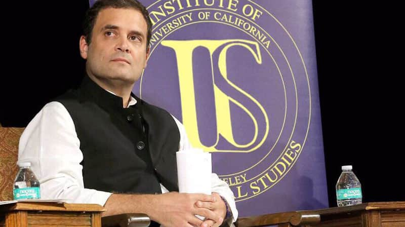 'Arrogance' led to Congress party's downfall, ready to take charge in 2019: Rahul Gandhi