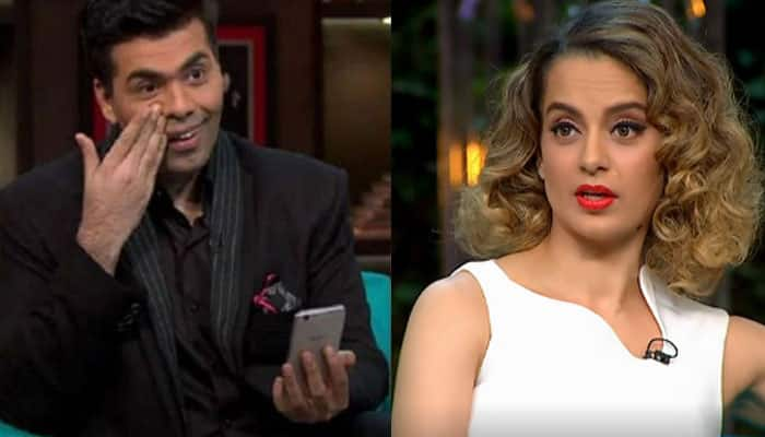 Karan Johar's latest tweet about 'overconfidence and delusion' meant for Kangana Ranaut?