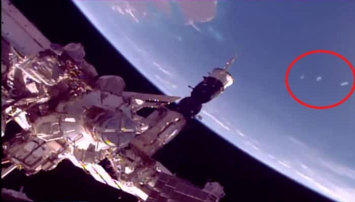 Video of 'UFO portals' beneath the ISS goes viral, sparks debate on alien existence once again