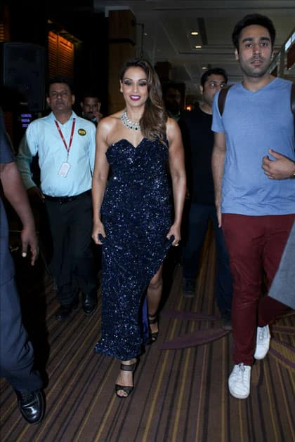 Actress Bipasha Basu during the