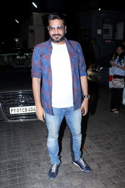 Casting Director Mukesh Chhabra during the special screening of film
