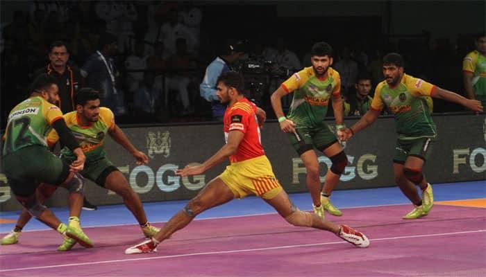 PKL 2017: Gujarat Fortunegiants edge out Patna Pirates 30-29