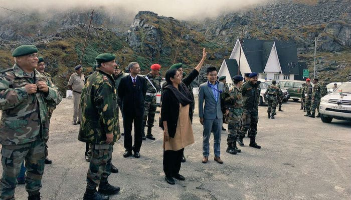 Sitharaman's 'namaste' a goodwill signal to mend ties after Doklam: Chinese media