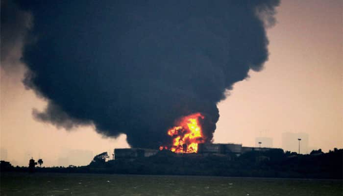 Fire-fighting operation on Butcher Island over: Mumbai Port Trust