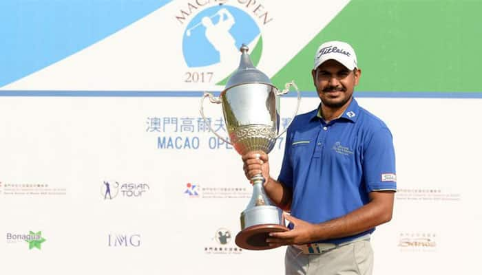 Macau Open: Gaganjeet Bhullar clinches eighth Asian Tour title