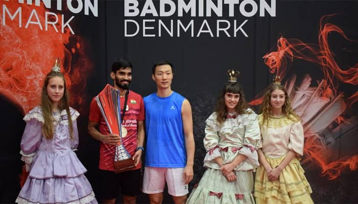 Kidambi Srikanth wins Denmark Open, his third Super Series title of 2017