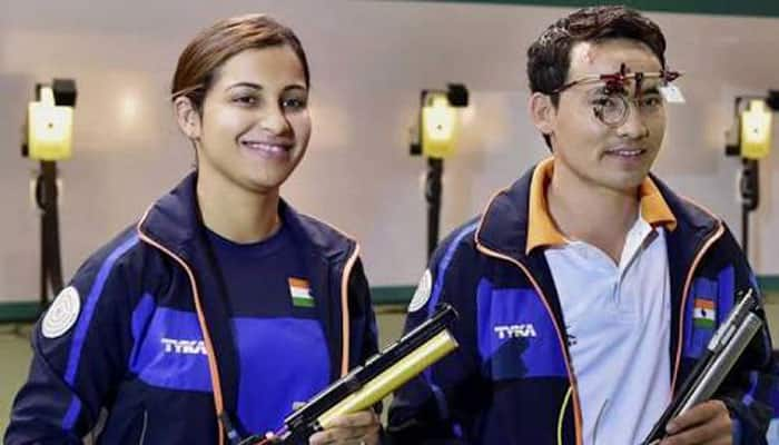 Jitu Rai, Heena Sidhu win mixed team gold at ISSF Shooting World Cup Final