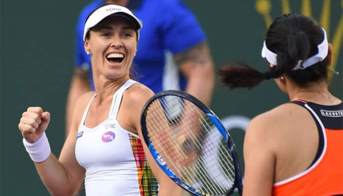 Martina Hingis bids farewell with doubles defeat in Singapore