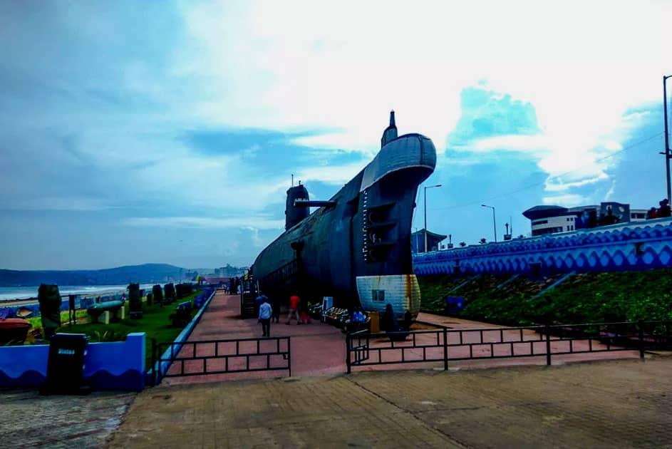 INS Kurusura Submarine Museum, Visakhapatnam (Vizag)