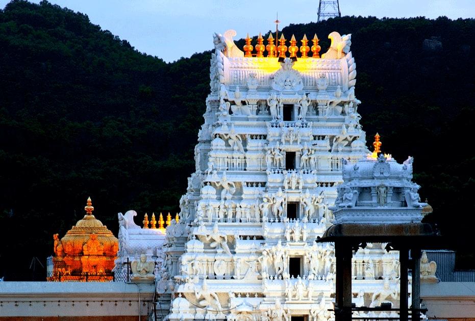 Gopuram, Tirumala Temple
