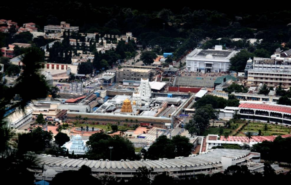 Tirumala temple & Vaikuntam queue omplex
