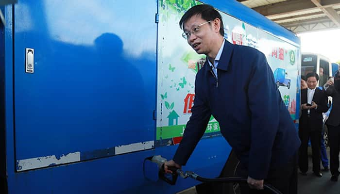 In China, cars can now run on biodiesel made from recycled gutter oil