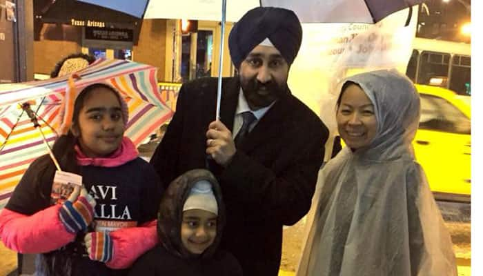 Indian-American Ravi Bhalla becomes first Sikh mayor in New Jersey days after being labelled a 'terrorist'