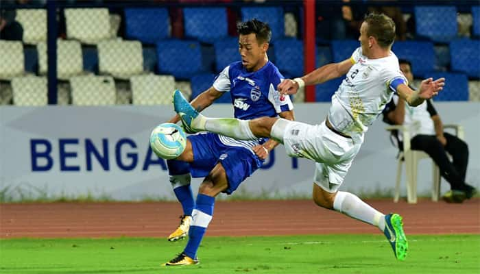 Eduardo Martin Garcia, Sunil Chhetri on target as Bengaluru FC beat Mumbai City 2-0