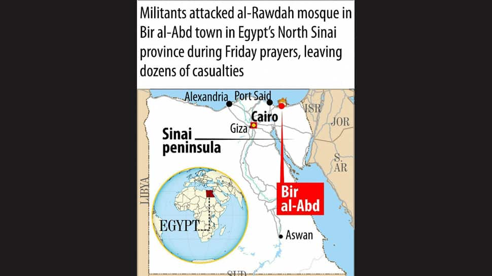 Egypt declares 3 days of mourning over North Sinai mosque