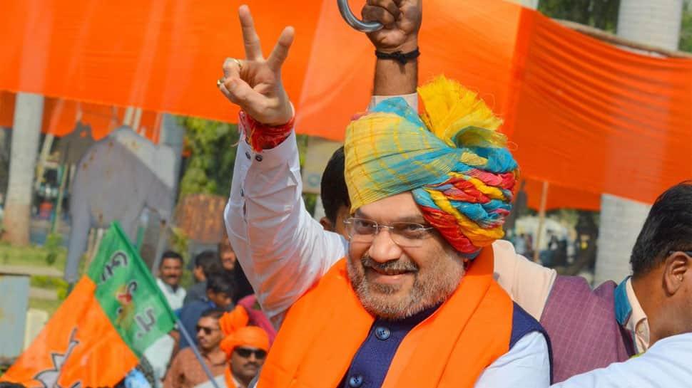 Gujarat has seen riots and days of curfews under Congress: Amit Shah