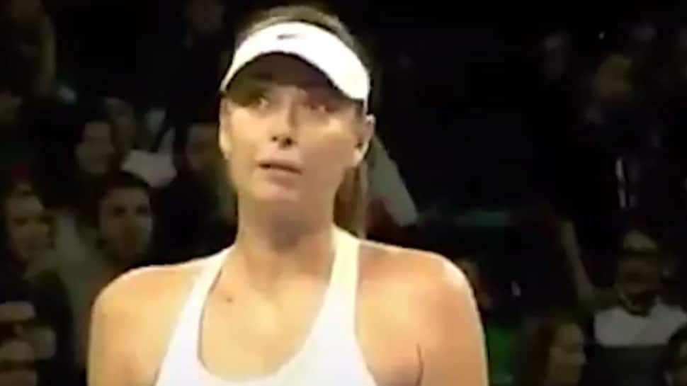 Watch Maria Sharapova Gets Mid Match Marriage Proposal Tennis News Zee News