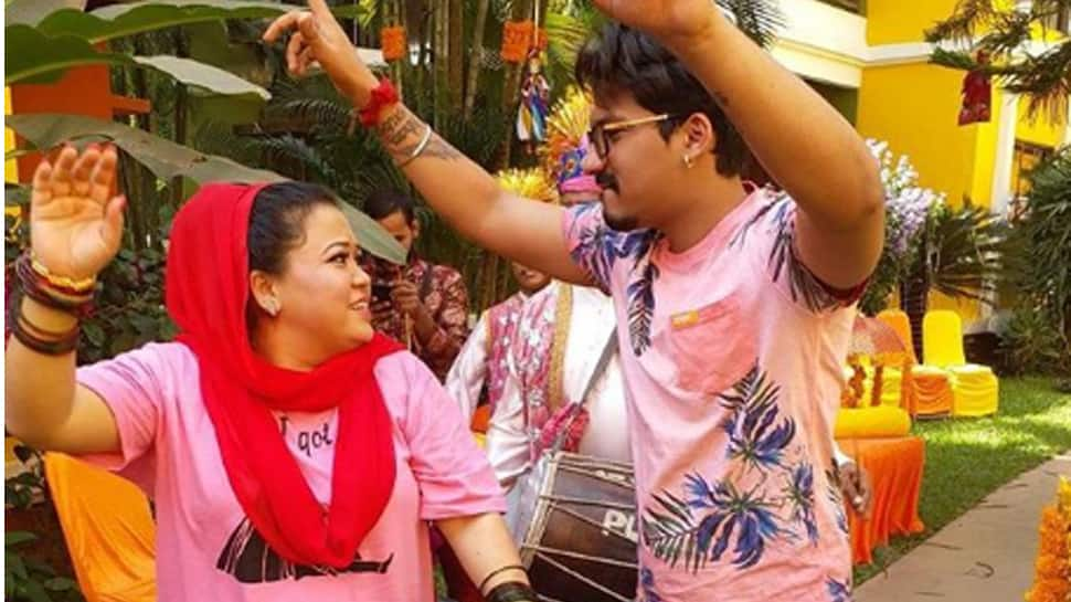Bharti Singh's dance with fiance Harsh Limbachiyaa looks straight out of a movie—Watch