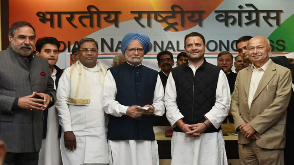 Rahul Gandhi files nomination, set to become Congress President