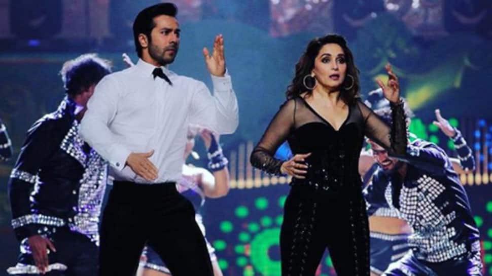 Varun Dhawan dances on 'Tamma Tamma' with Madhuri Dixit Nene—Watch video