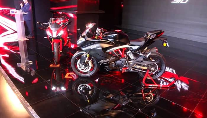 TVS Apache RR 310 launched in India: Price, specs and more