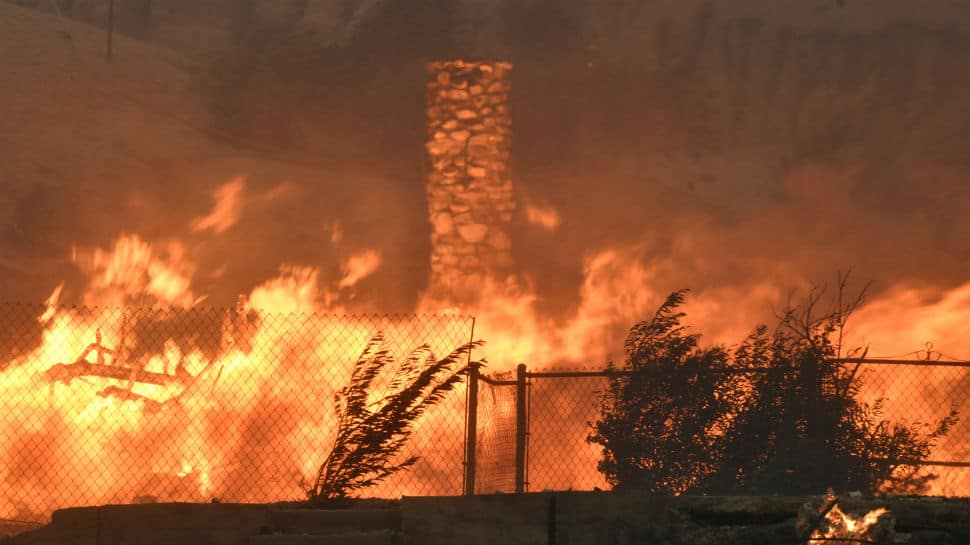 Luxury in flames: Massive fire turns posh Los Angeles to ashes