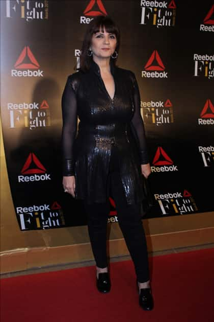 Fashion Designer Neeta Lulla at the Reebok`s Fit To Fight awards ceremony in Mumbai.