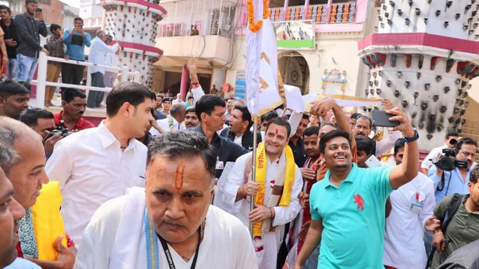 Rahul Gandhi greeted with chants of 'Modi Modi' in Gujarat