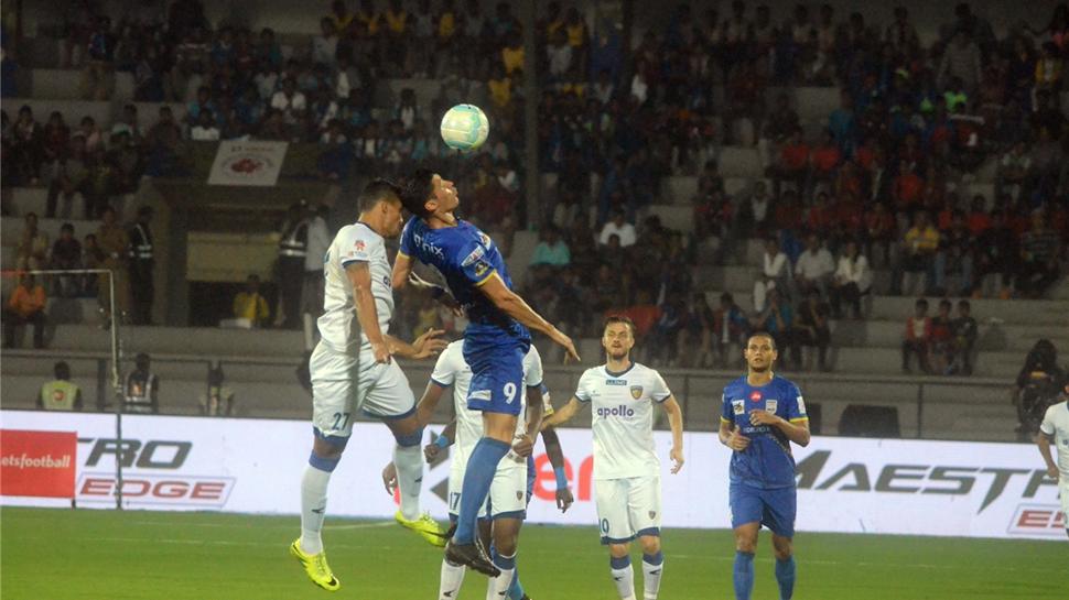 ISL 2017-18: Achille Emana scores as Mumbai City FC beat Chennaiyin FC 1-0