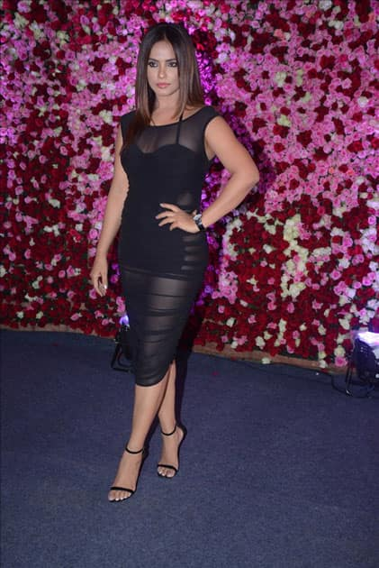 Actress Neetu Chandra at the red carpet of