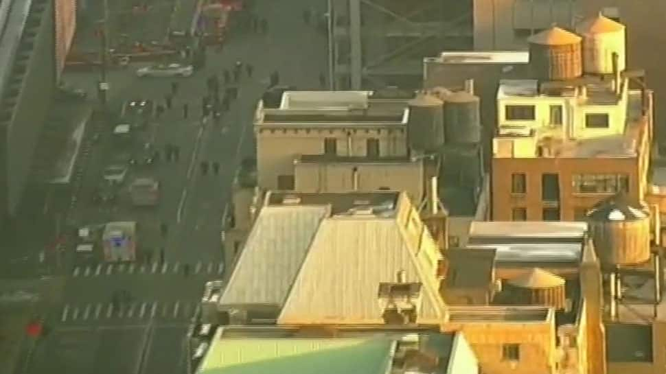 New York City explosion: Four hurt, none life-threatening