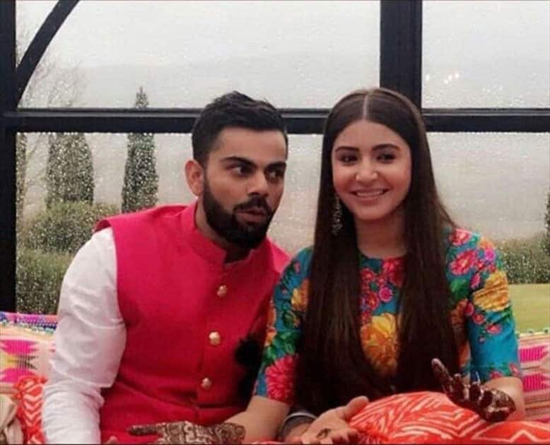 Indian cricket captain Virat Kohli gets married to actress Anushka Sharma in Florence, Italy.