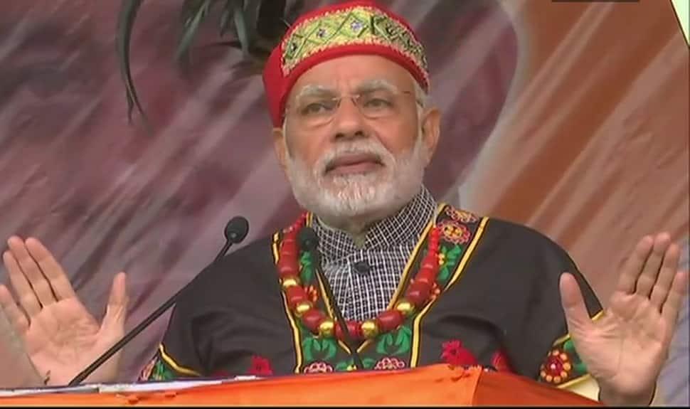 Want to make Meghalaya top tourist destination: PM Modi