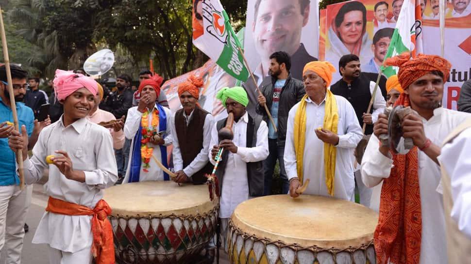 Rahul Gandhi takes over