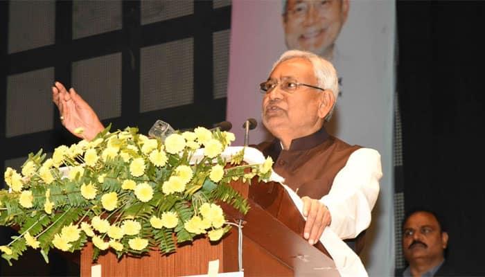 Assembly election results 2017: Nitish Kumar congratulates PM Modi, takes a dig at Congress
