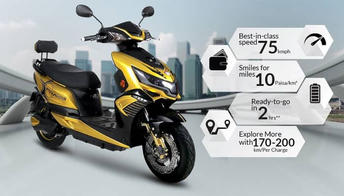 Okinawa Praise electric scooter launched in India at Rs 59,889