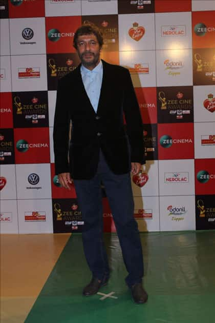 Actor Chunky Pandey at the red carpet of