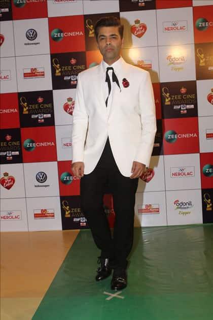 Filmmaker Karan Johar at the red carpet of