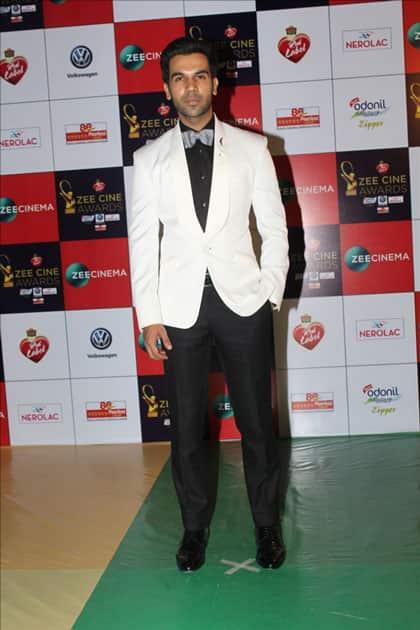 Actor Rajkummar Rao at the red carpet of