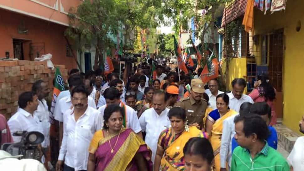 RK Nagar Assembly bypoll: Voting underway; Madhusudhanan, Dhinakaran key contenders
