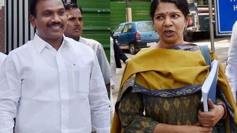 A Raja, Kanimozhi first reacti...