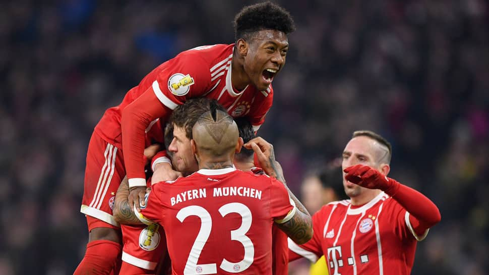 DFB Pokal: Bayern Munich edge past holders Borussia Dortmund into quarters