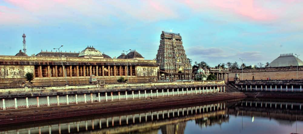 Thillai Nataraja Temple in Chidambaram, Tamil Nadu is home to the Akasha Lingam. It represents Space.