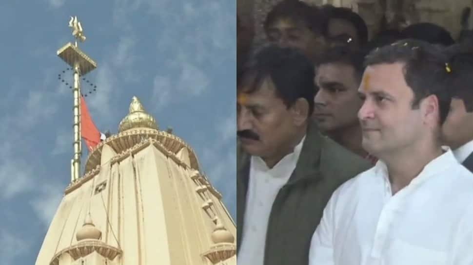 Rahul Gandhi visits Gujarat, offers prayers at Somnath Temple - See pics