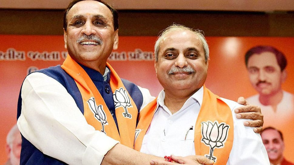 BJP's show of strength in Gujarat as Vijay Rupani takes oath as Chief Minister